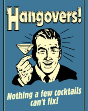 hangovers-nothing-cocktails-can-t-fix-funny-retro-poster