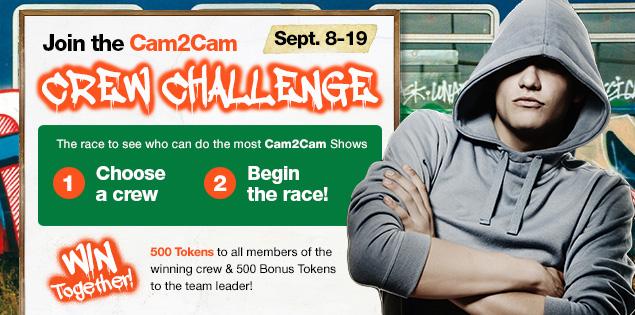 Cam2Cam Crew Challenge Winners! (CONTEST)