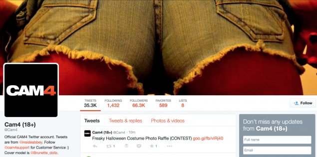 CAM4 Twitter Cover Stars (CONTEST)