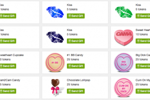 New CAM4 Valentine's Day Gifts!