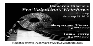 Masquerade Webshow With Cameron_hilario