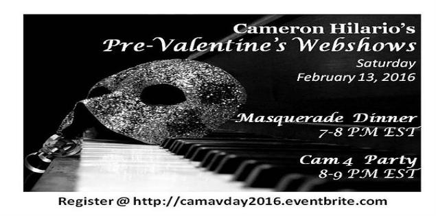 Masquerade Webshow With Cameron_hilario
