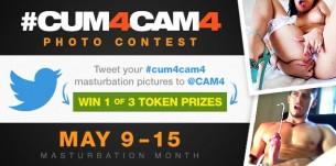#cum4CAM4 Masturbation Month Photo Contest