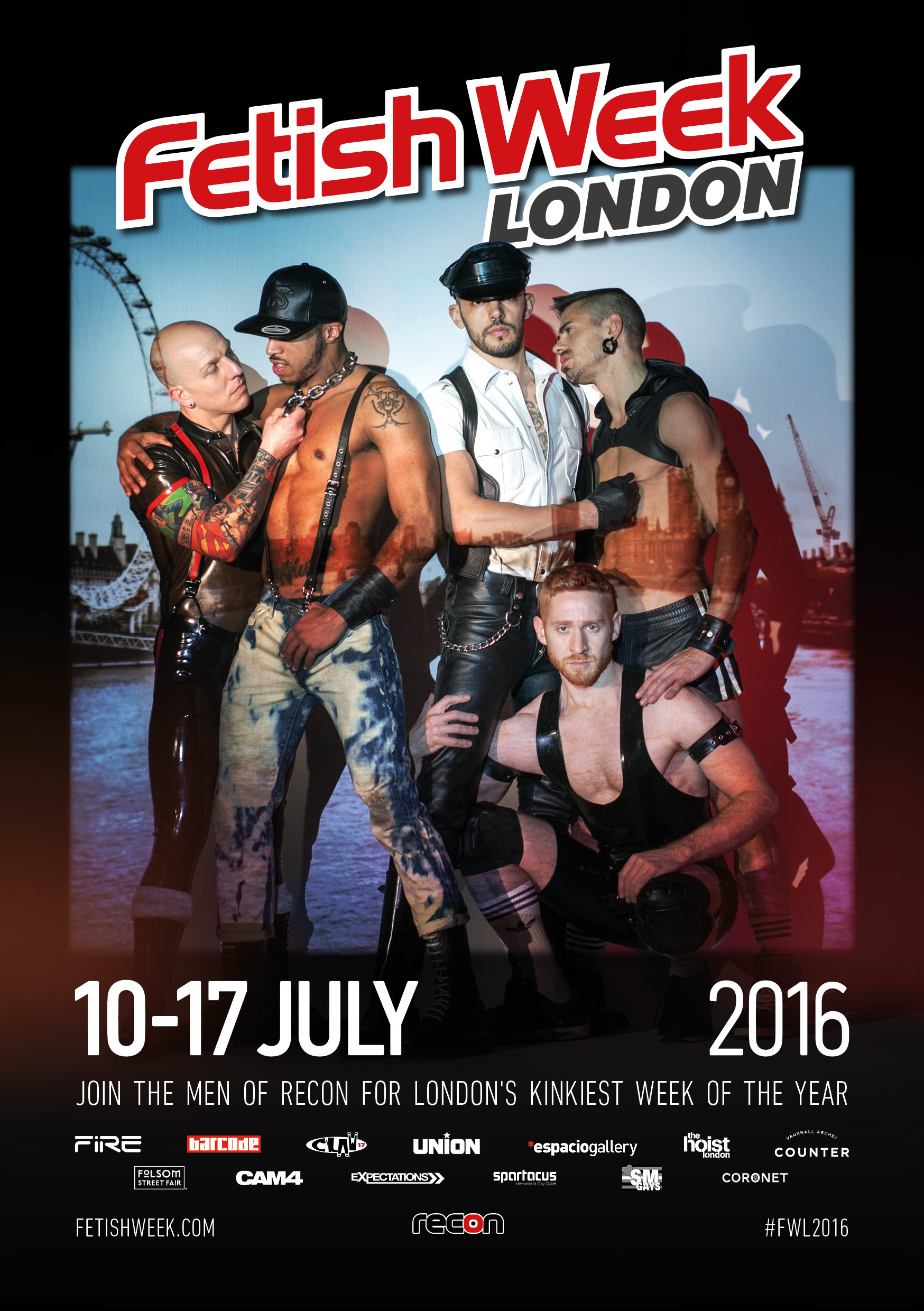CAM4 Sponsors Fetish Week London 2016!