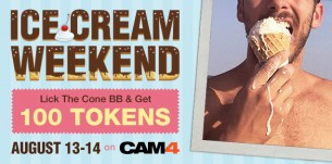 Earn 100 Tokens This Weekend on CAM4