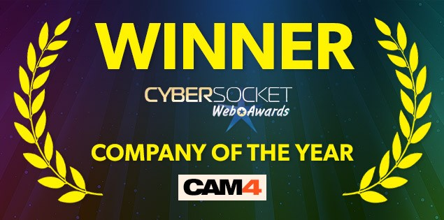CAM4 Wins Company Of The Year