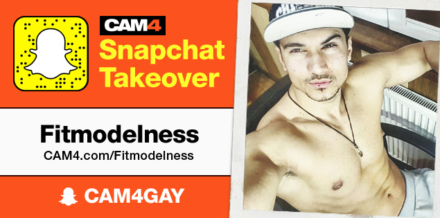 Don't Miss Fitmodelness CAM4's Snapchat Takeover March 3rd-5th