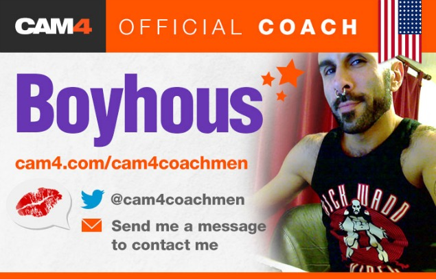 CAM4 Male Coaching Schedule For April