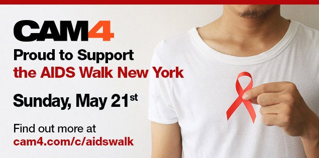 CAM4 is Proud To Support The New York Aids Walk