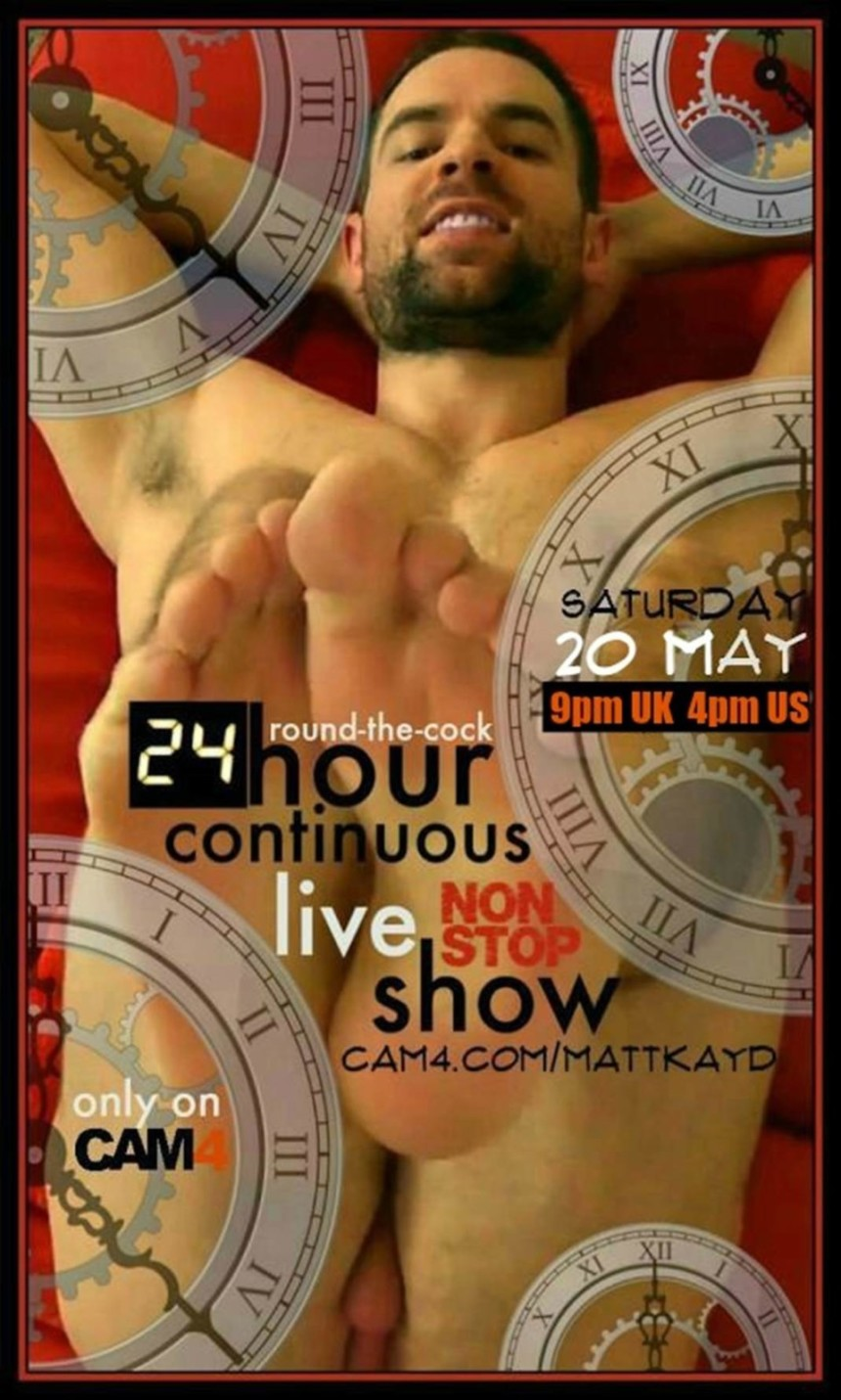 A MUST WATCH: Mattkayd's 24 Hours Non-Stop Continuous Show
