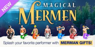 MAKING A SPLASH with Mermen gifts