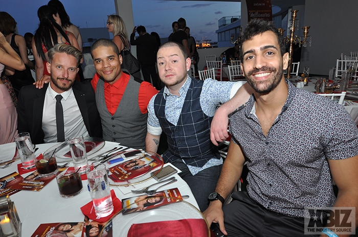 Theo, Wes, JD, and Thiago