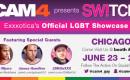 CAM4 Presents 1st LGBTQ show SW!TCH @ Exxxotica