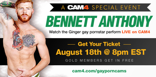 SPECIAL EVENT: Ginger Hunk Bennett Anthony LIVE- August 18th @ 8pm (EST)