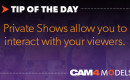 Tip Of The Day: 'Private Shows' can earn you up to $500
