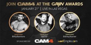 Join CAM4 at the GayVN Awards!