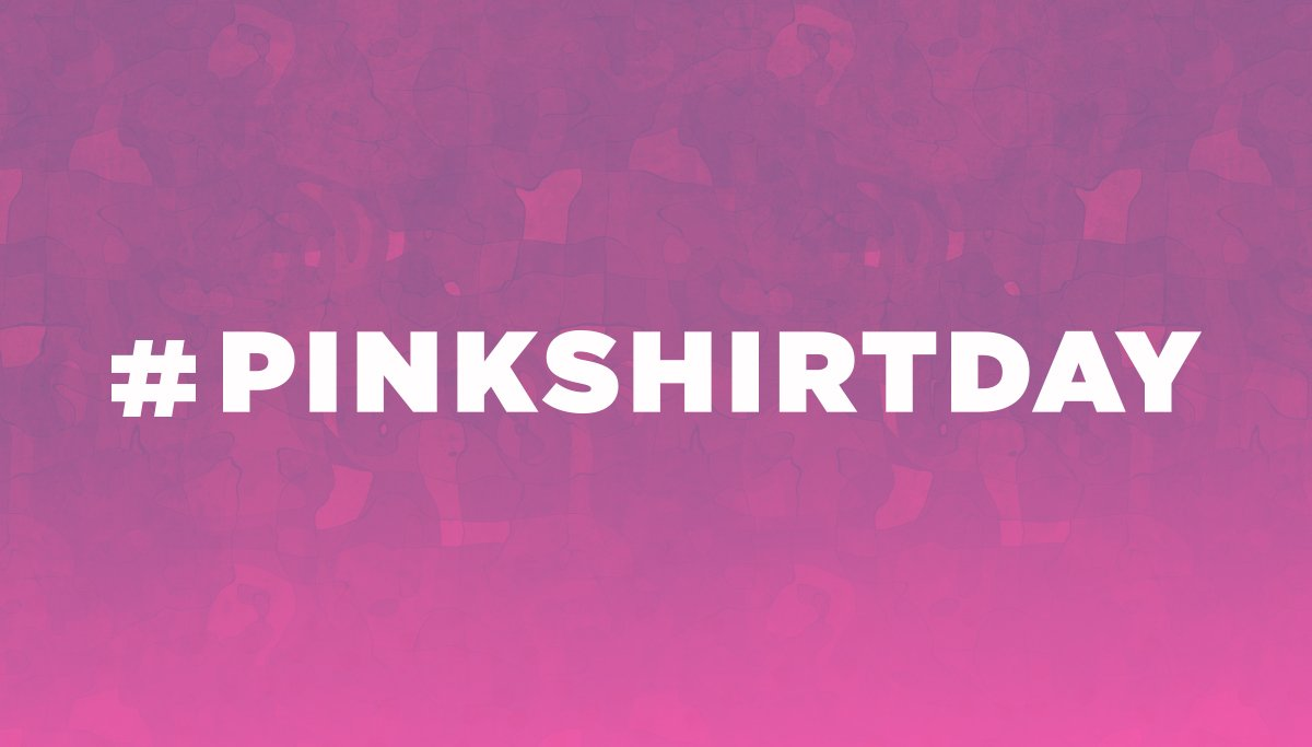 Show us your Support on #PinkShirtDay!