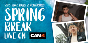 Spring Break is Coming to CAM4!