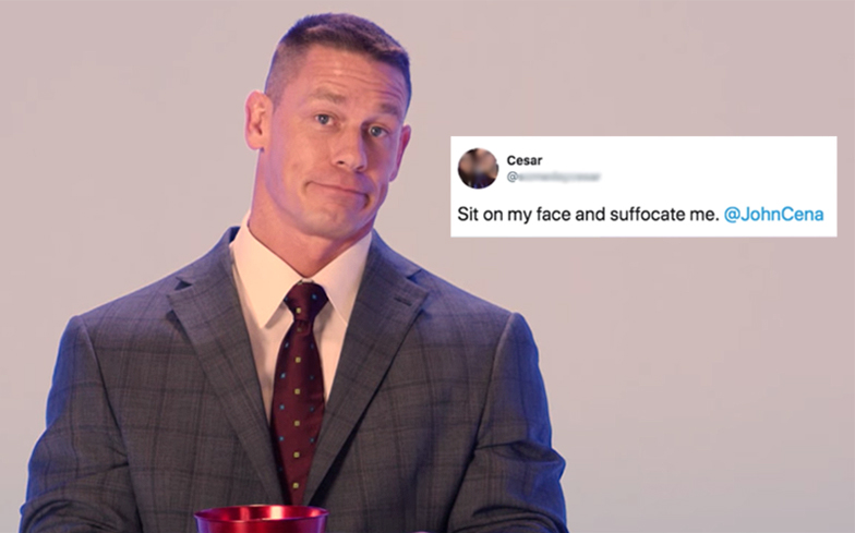 John Cena Quenches our Thirst in New Buzzfeed Video!