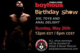 Join Boyhous on his CAM4 Birthday Show!