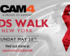 CAM4 to Support the New York Aids Walk 2018