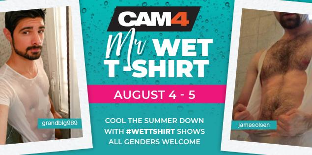 Be the Next Mister Wet T-Shirt!
