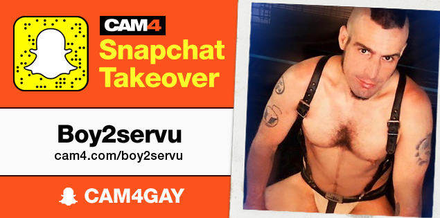 Follow Boy2ServU on his CAM4Snaps Takeover!