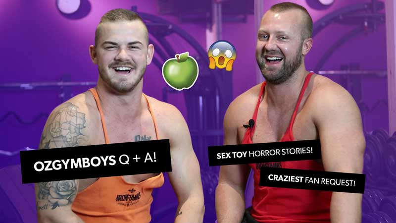 VIDEO: Q + A with OZGYMBOYS!