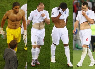 Hot UK Footballers In The World Cup