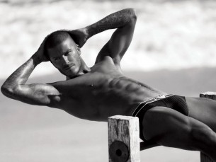 The hottest UK soccer player- David Beckham