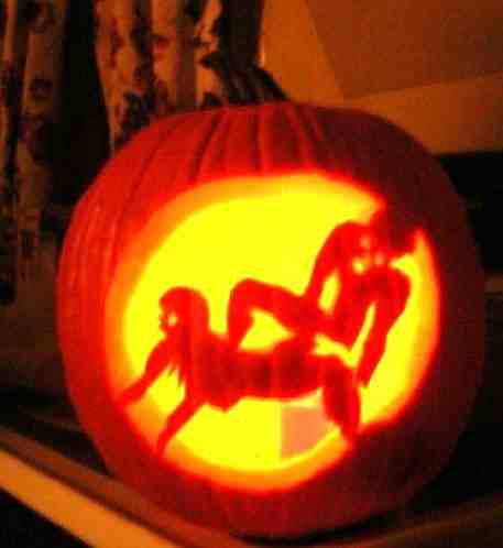 carvings Gay porn pumpkin