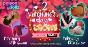 Poison Dollz Valentine's Day Weekend
