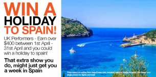 Win a Holiday to Spain!