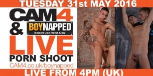 Gay Porn Shoot Live On CAM4 – Boynapped