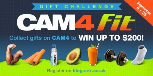 CAM4 Fit Gift Challenge: Earn up to $200!