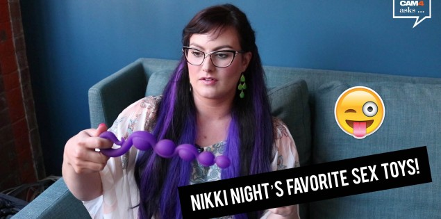 Top 3 Sex Toys According to Nikki Night (VIDEO)