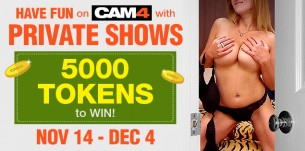 Sign Up: CAM4 Private Shows (Closed)