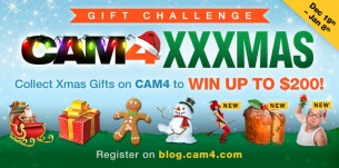 CAM4 XXXMas Gifting Challenge (Closed)- Winners