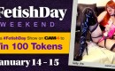 Celebrate #FetishDay on CAM4 and Earn 100 Tokens!