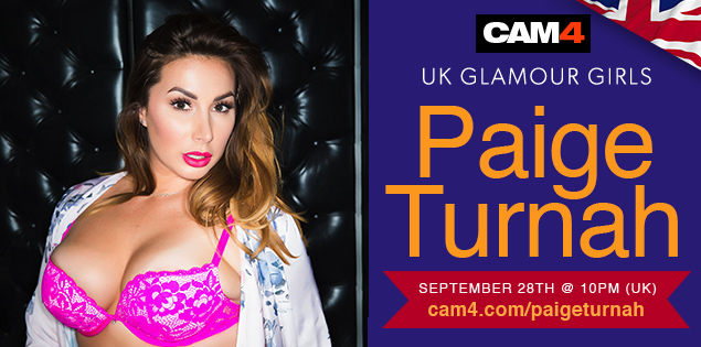 Paige Turnah UK Glamour Babe Live on CAM4