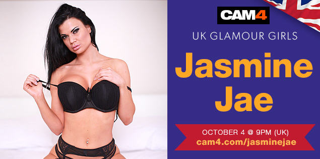 World Famous Porn Star Jasmine Jae on CAM4 TONIGHT!