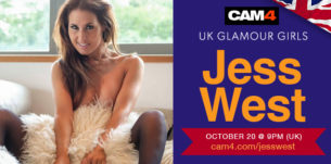 Porn Star Jess West is LIVE here on CAM4!