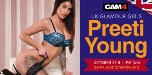 Preeti Young is Live on CAM4!