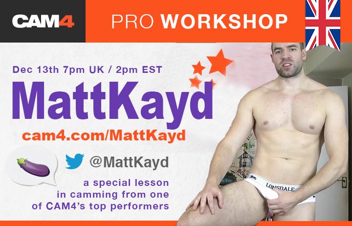 Matt Kayd's Pro Workshop!