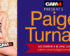 UK Glamor Model LIVE: Paige Turnah