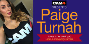 UK Glamour Model Paige Turnah is Back and Live on CAM4