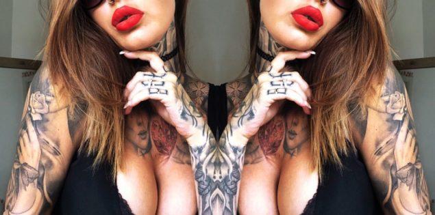 Hot Tattoos and Tits worth clicking for – it's TattsanTits