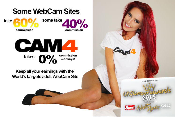 CAM4 is Proud to sponsor the UK Glamour Awards