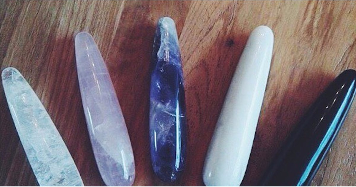 Healing Crystal Dildos For Your Vagina