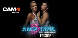 Romi Rain and Laura Desirée have their mouths full